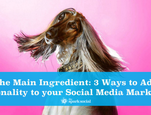 The Main Ingredient: 3 Ways to Add Personality to your Social Media Marketing